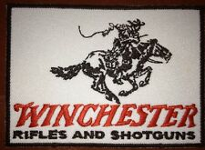 """Large 4"""" Winchester, Rifles And Shotguns  Embroidered Patch + FREE STICKER"""
