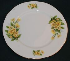 ROYAL WINCHESTER  Bread PLATE - YELLOW FLORAL PATTERN