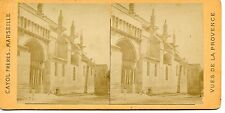 STEREOSCOPIE Stereoview PHOTO CAYOL MARSEILLE / TARASCON N° 39 SAINTE MARTHE