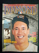 THE DIAMOND MAGAZINE - NOV 1993 - BOB FELLER ON COVER - NEAR MINT!!!!