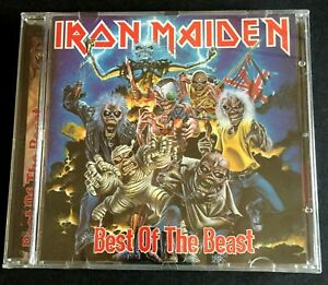 Iron Maiden Best Of The Beast CD Brand New And Sealed Free Post