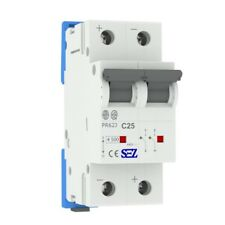 Miniature circuit breaker C25A 2-pin Dc Photovoltaic Backup Maker Sez