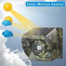 New listing Extra Camo Solar Motion Sensor for Driveway Alarm Wireless 500m Long Range Alarm