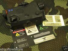 Airsoft PEQ-15 LA5 Battery Case Box FMA Dummy AEG 20mm Rail Paintball BK (100)