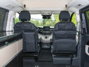 BRANDRUP Storage Pockets for Left cabin seat of Mercedes-Benz V-Class Marco Polo