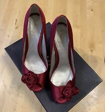 Stunning, Boxed Phase Eight Shoes. Rose Bud Peep Toe, Size 6, Eur 39, Cost £80