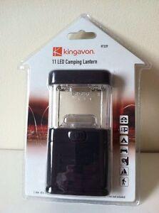 11 LED CAMPING CARAVAN TENT FISHING LIGHT SHED LANTERN LAMP TORCH BRAND NEW