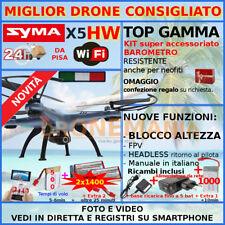Drone FPV droni WiFi Syma X5hw radiocomandato Quadcopter Quadricottero (c1i)