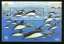 JERSEY 957a, 2000 DOLPHIN (STAMP EXPO EMBLEM), S/S OF 1, MNH (JER091)