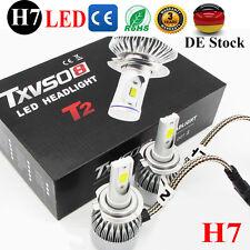 H7 LED Auto Scheinwerfer COB Installationssatz Lampen Birnen 6000K Weiß 2X55W