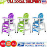 Baby 3 in 1 Convertible Play Table Seat High Chair Booster Toddler Feeding Tray