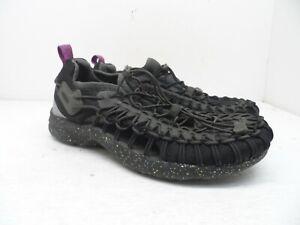 KEEN Men's UNEEK GO Slip-On Casual Shoe Black Olive/Holly Hock Size 9M