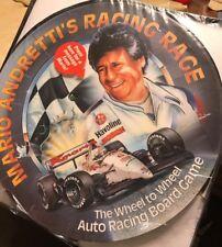 Mario Andretti Racing Rage Board Game.