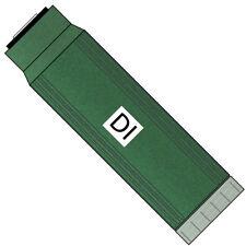 Color change mixed bed DI resin RO/DI filter cartridge