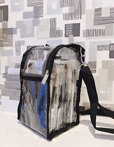 R&M PERSONALISED MAKEUP BRUSH BAG ESSENTIAL BUDDY ORGANISER SHOULDER PVC HOLDER