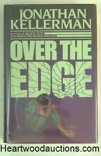 OVER THE EDGE by Jonathan Kellerman SIGNED FIRST