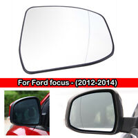Right wing adhesive mirror glass for Ford C-Max 2003-2008 9RS