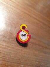 VINTAGE GS 1905 Galatasaray Football Club Turkish Supporters Pin Badge Turkey