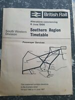 BR Southern Region Timetable 1967, Collectable rare . PROMO BUY 2 GET 1 FREE.