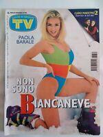 tv sorrisi e canzoni 31 1996 barale columbro sandrelli morissette conti ruffo
