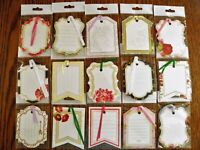 Anna Griffin All Occasion Gift Tags with Ribbons -Set of 15