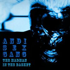 ANDI SEX GANG - The Madman in the Basket - SIGNED BY ANDI- BRAND NEW CD  sexgang