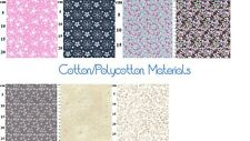 Cotton/Polycotton Poplin Material – Patchwork material, crafts, masks, clothing