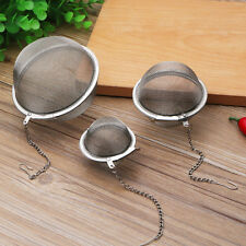 Great! Stainless Steel Infuser Strainer Mesh Tea Filter Spoon Locking Spice Ball