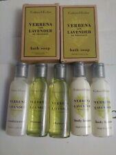 Crabtree Evelyn 7 Pieces Soap, Conditioner Body Lotion Verbena Lavender New