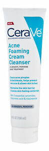 CeraVe Acne Foaming Cream Cleanser 5 oz. Facial Cleanser
