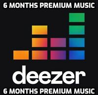 Deezer Premium 6 Months (GLOBAL)