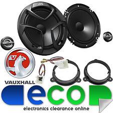 Vauxhall Vivaro 2016 JVC 16cm 600 Watts 2 Way Front Door Van Component Speakers
