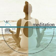DEEP RELAXATION MEDITATION ALBUM CD relaxation stress sleep aid mindfulness new