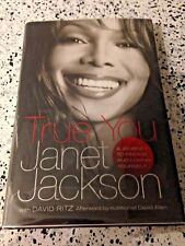 Janet Jackson SIGNED BOOK True You 1st/1st