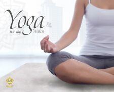 Yogamatte aus Lammfell weiß Kurzhaar Fitnessmatte Turnmatte Pilates