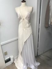 J. Mendel Dress Ivory White Gown Size 6