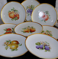 VTG NUTSCHENREUTHER SELB LHS BAVARIA GERMANY PASCO FAVORIT 8  LUNCHEON PLATE(s)