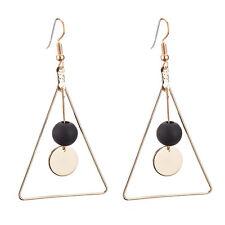 Drop Hook Earrings Women Jewelry Gifts Eur Fashion Geometric Triangle Dangle Ear