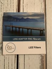 Lee 100mm System 72mm W/A Adaptor Ring NEW