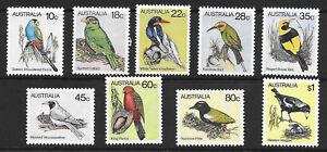Australian 1980 Australian Birds Set Stamp MNH