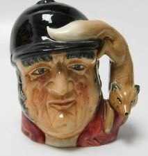 Royal Doulton Gone Away Character Toby Jug Mug D6538 Fox Hunt 1959 4""