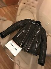 Balmain x HM Leather Moto Jacket