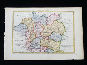 1787 BONNE: GERMANIA VETUS, GERMANY, DEUTSCHLAND, BERLIN, MUNCHEN, KOLN...