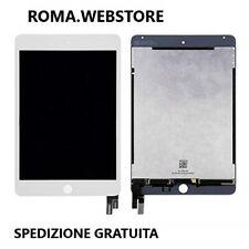 Apple Schermo con Touchscreen Vetrо per iPad mini 4 Bianco