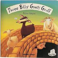 Three Billy Goats Gruff (Flip-Up Fairy Tales)-ExLibrary
