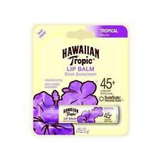 NEW Hawaiian Tropic Moisturizing Lip Balm Sunscreen, SPF 45 .14 oz
