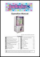 Barber Cut Lite Game Operations/Service/Repair Manual/Arcade Redemption Namco SB