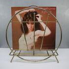VTG.+Mid+Century+Modern+Wire+Magazine+Rack+Vinyl+Album+Stand+ATOMIC+ART+DECO