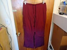 "Butter - Soft Size L Wine Color Scrubs Pants "" BEAUTIFUL PAIR """