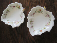 Wedgwood Bone China Mirabelle LOT OF 2 CANDY/TRINKET DISHES Made in England